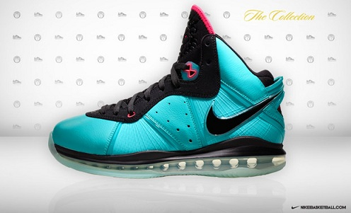 Lebron VIII, Lebron James 8 South Beach,
