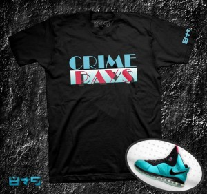 Lebron South Beach Shirt, Crime Pays T Shirt