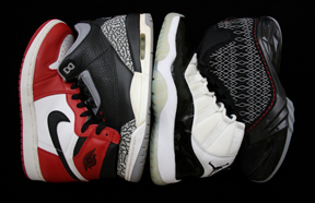 Jordan I-XXIII, Jordan Collection, History of air jordan