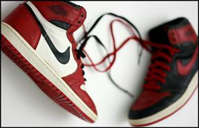 Jordan 1, Black Red Jordan I, Banned OG Jordan 1s