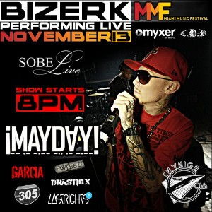Bizerk Live At Sobe, Mayday In Concert, Events at Sobe Live