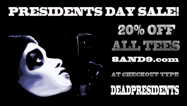 Presidents day streetwear sale