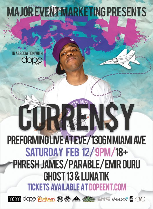 Curren$y Miami