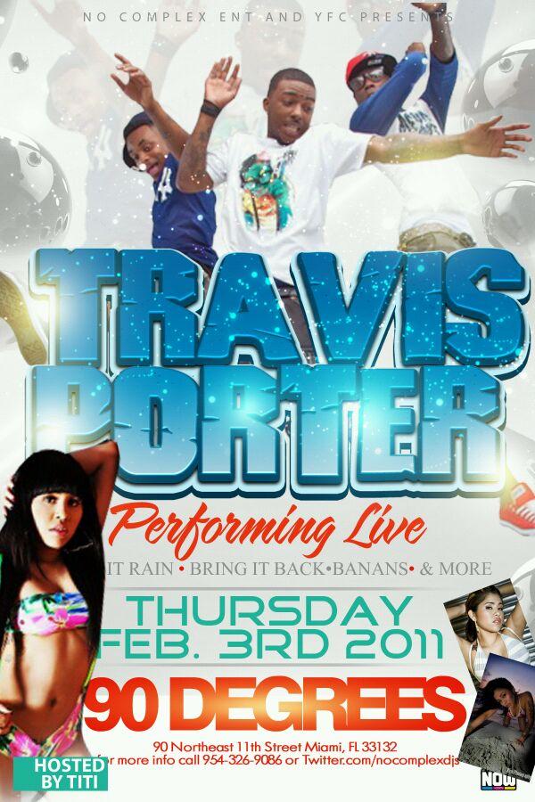 Travis Porter Show Miami