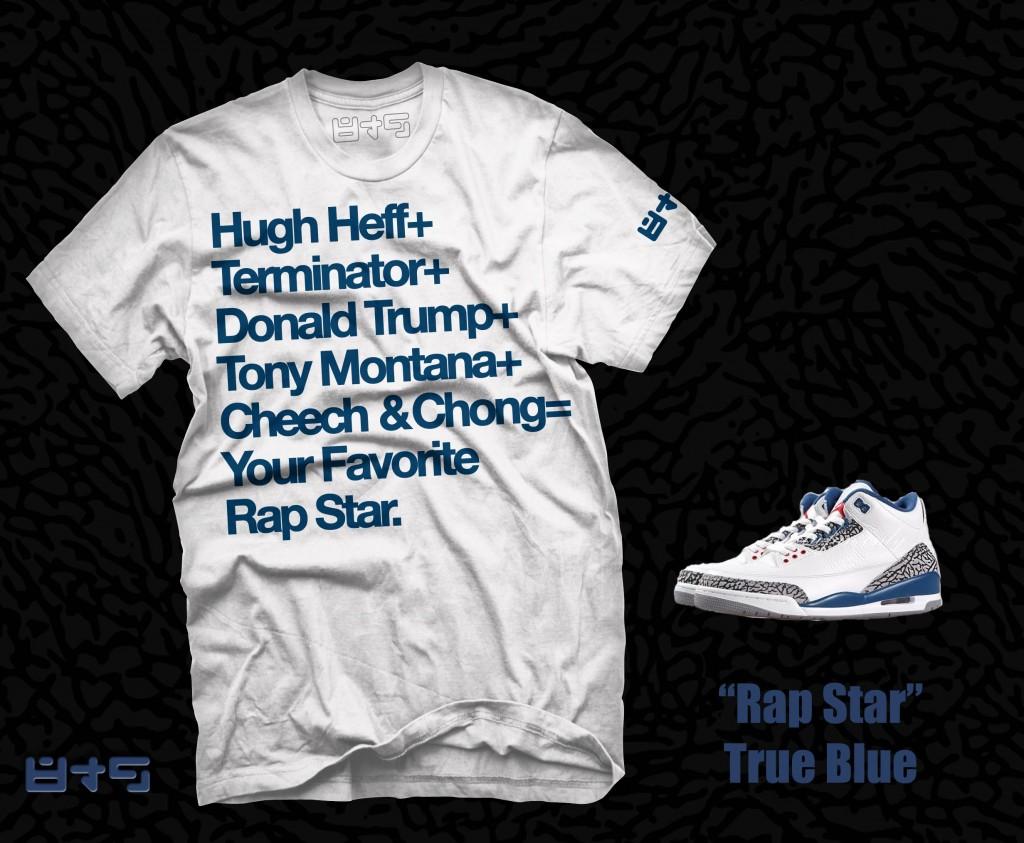 Jordan True Blue T Shirt