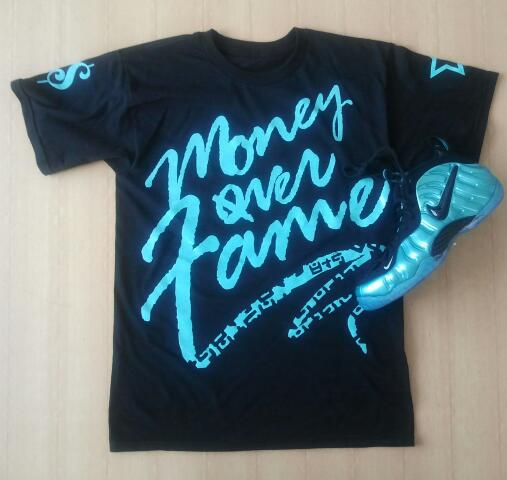shirt to match electric blue foamposite