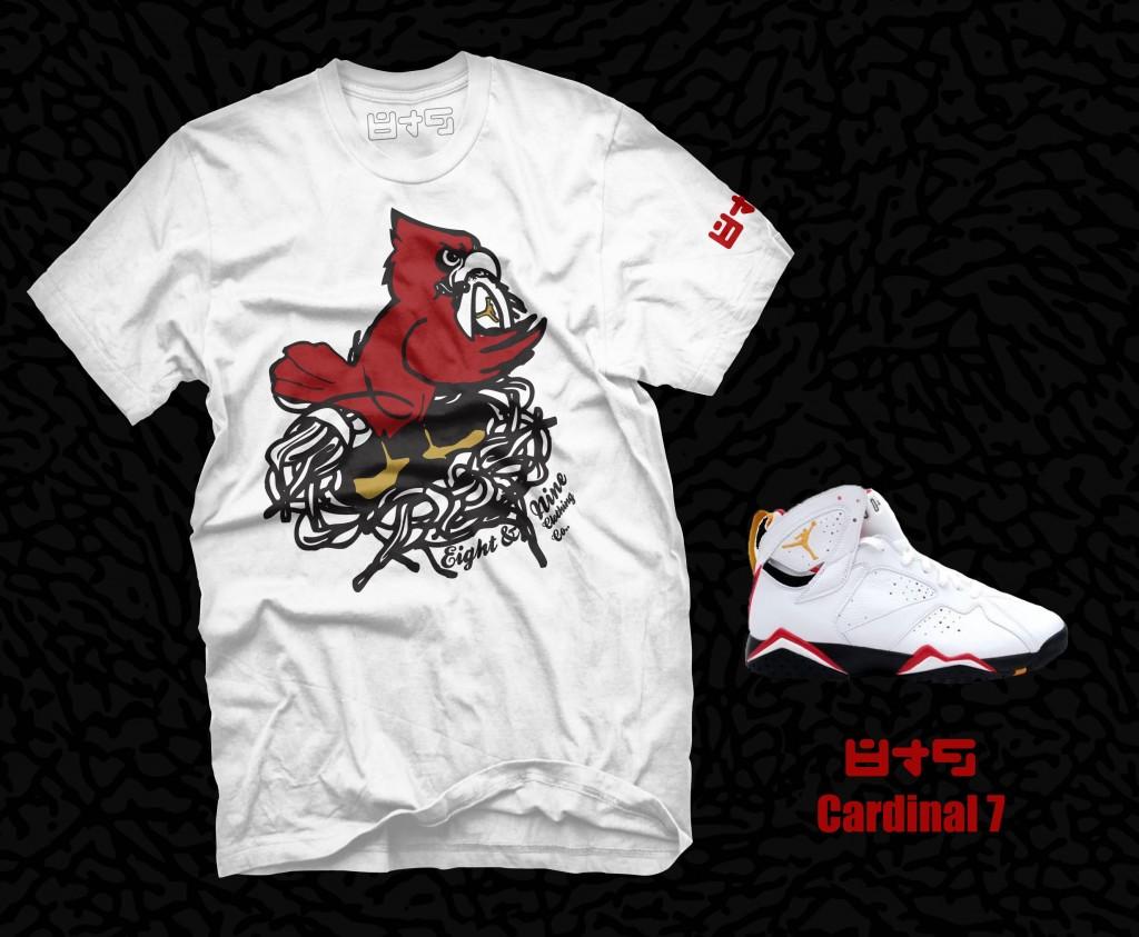 Jordan Cardinal 7 T Shirt + release date