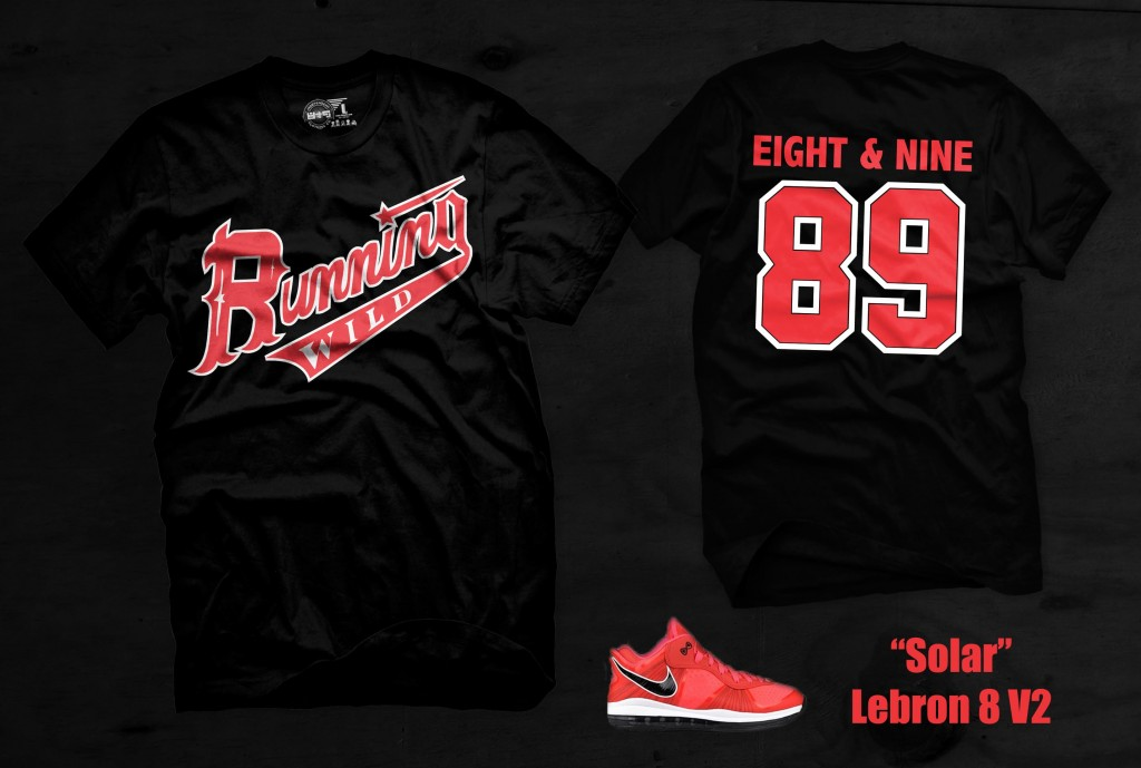Shirt to match solar lebron red