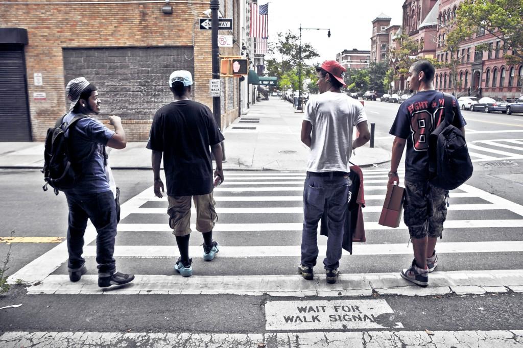Bronx photoshoot streetwear