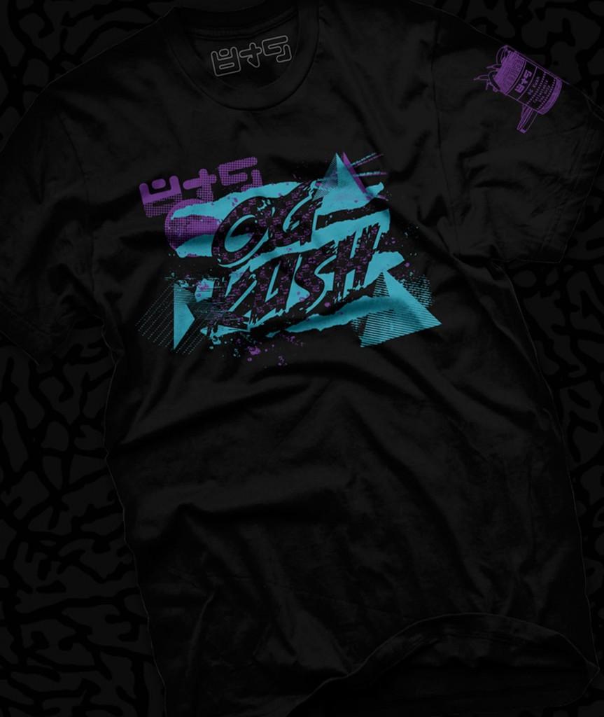 OG KUSH shirt to match Aqua Jordan 8 Color