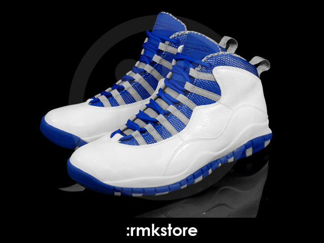 eabf3180282f Air Jordan 10. White Old Royal-Stealth 487214-107. February 11