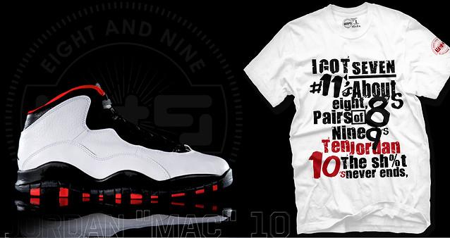 Red And White Jordan Shirt White/red/black Shirt to Match