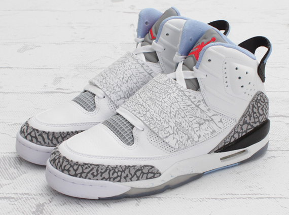 152e961ab53c Jordan Son Of Mars GS – White – Prism Blue – Wolf Grey