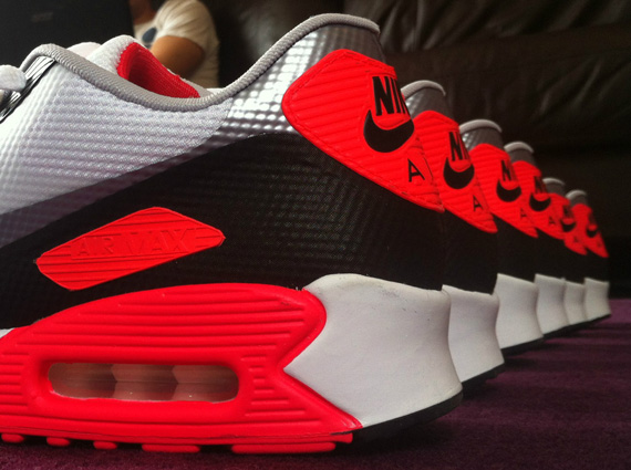 c6a76348e5f0 Nike Air Max 90 Hyperfuse – Infrared – Release Date