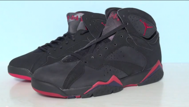 new styles 03da5 95478 Click here to view the embedded video. The post Comparison Video  1992  Original vs. 2012 Retro Air Jordan 7 (VII) Charcoal (Raptor) ...