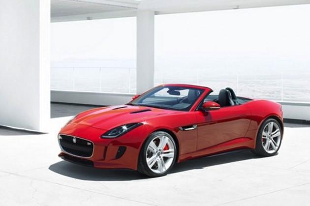 The New Jaguar F Type