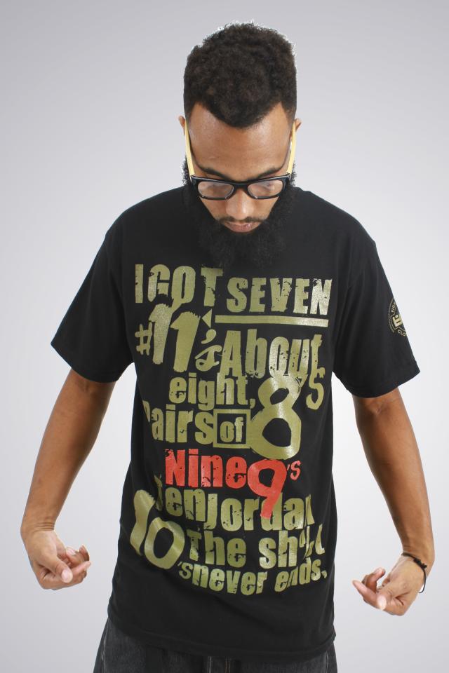 16ac0458cdec ... shirt to match Air Jordan Olive 9. The post Biggie Freestyle ...