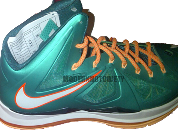 low priced 5f6fe 3bfcf Nike Lebron 10 – Dolphins