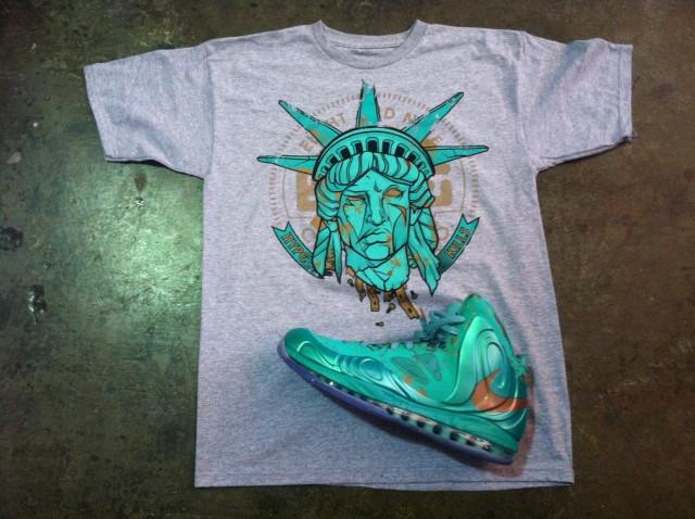 best website 7e28d d484d Hype Kills Statue Of Liberty T Shirt to Match Liberty Hyperp