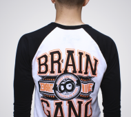 black n orange ragland back