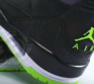 air jordan 3, joker close up heel
