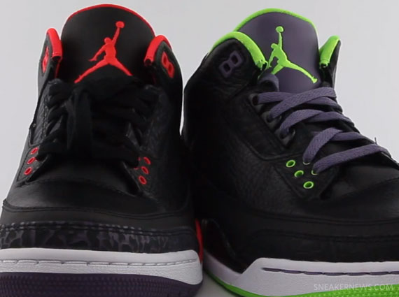 huge selection of 481ef 8cdd5 Joker 3 and Crimson 3 Comparison from KickSole  Video    8 9 ...