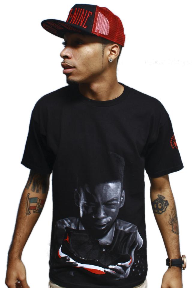 t shirt to match jordan bred 11