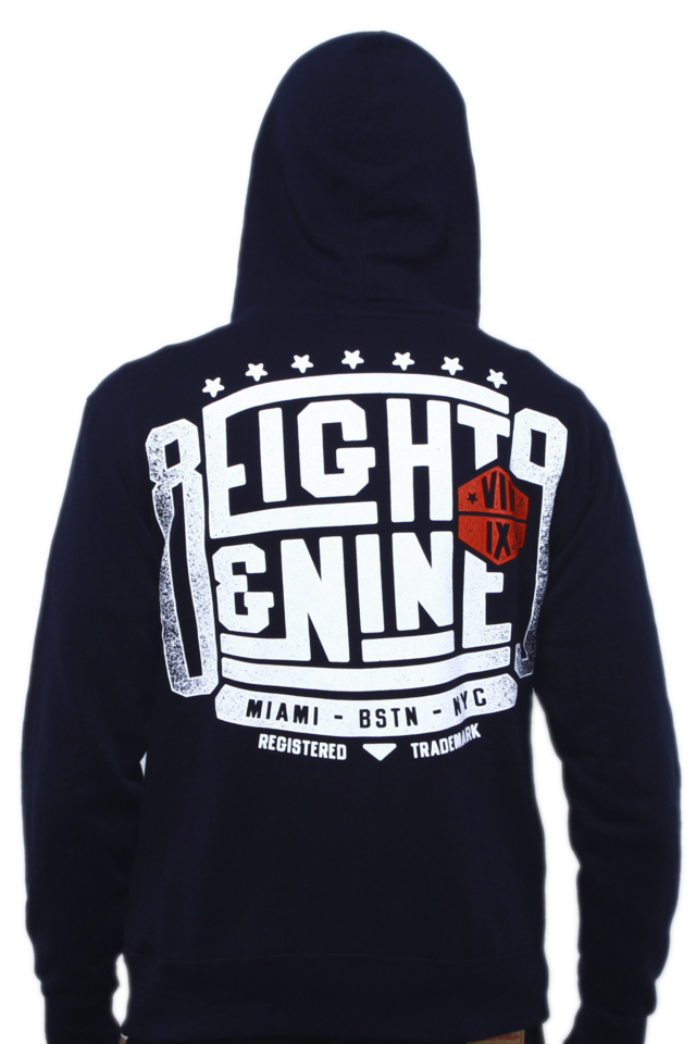 Championship Hooded Zip Up Sweatshirt