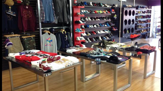 miami streetwear store, sneaker town