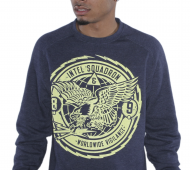 crewneck to match jordan 13 squadron blue