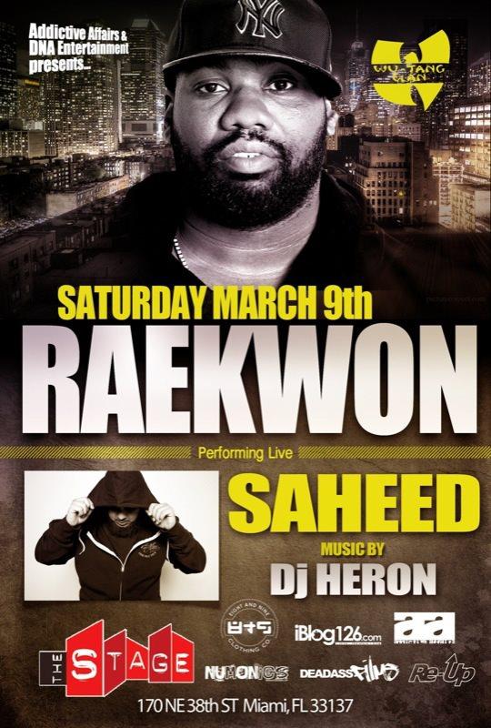 march 9 raekwon