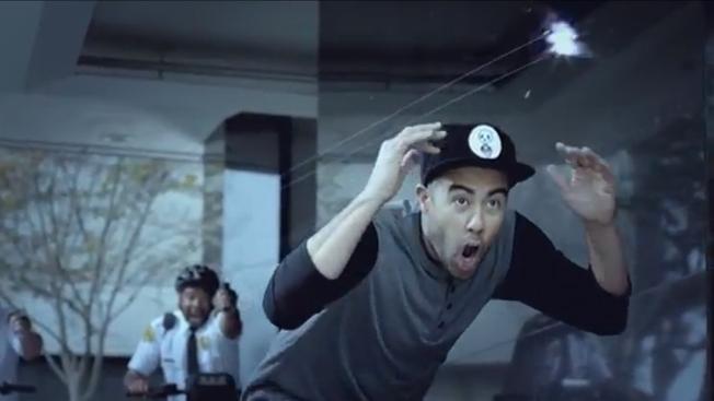 Eric Koston Nike comercial