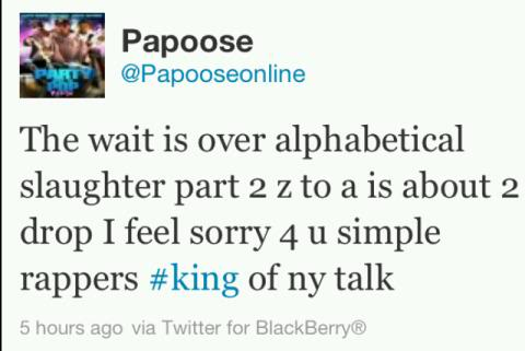 Papoose z to a