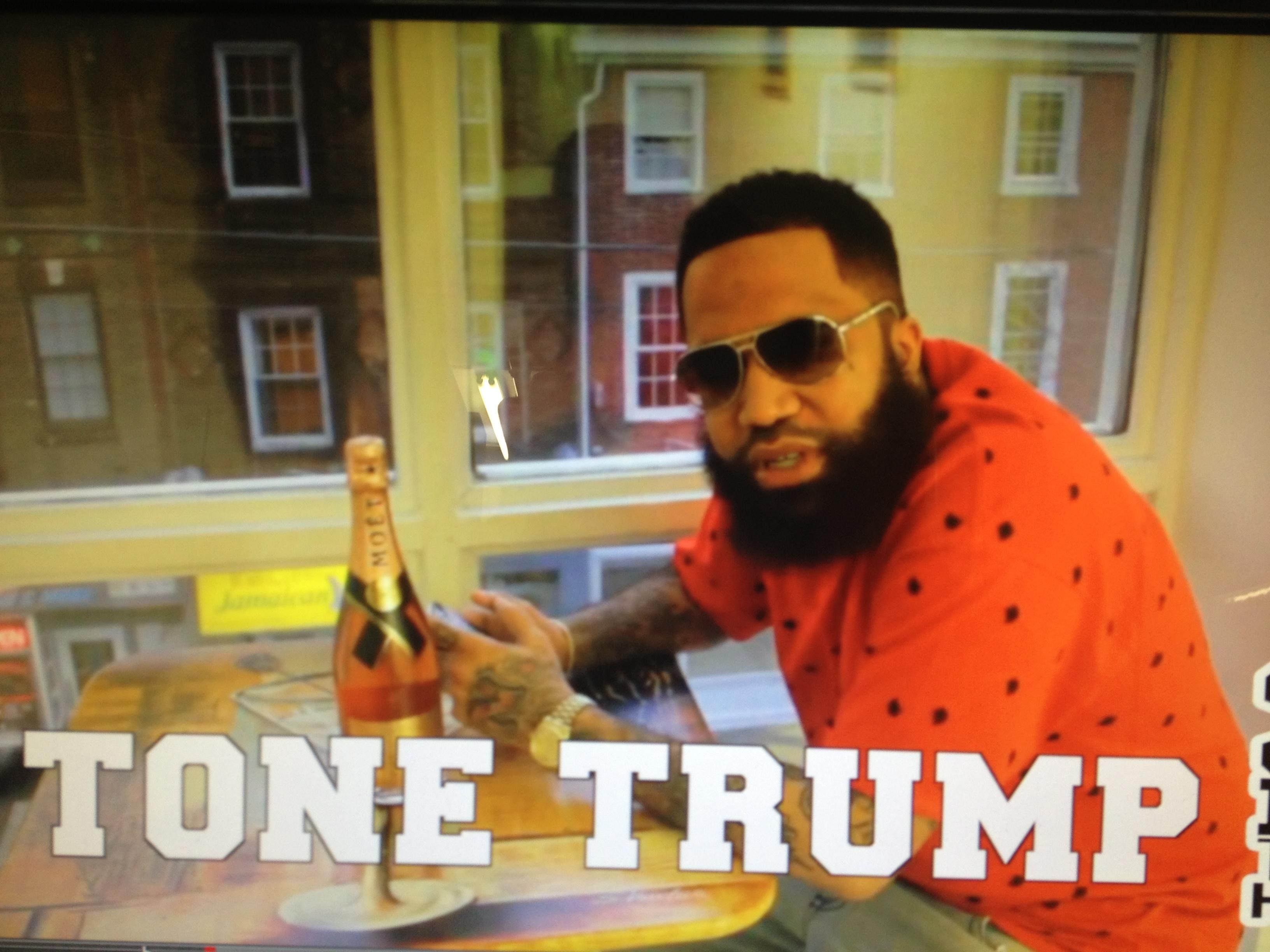 Tone Trump in Brain matter red