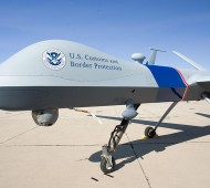 U.S. customs drone