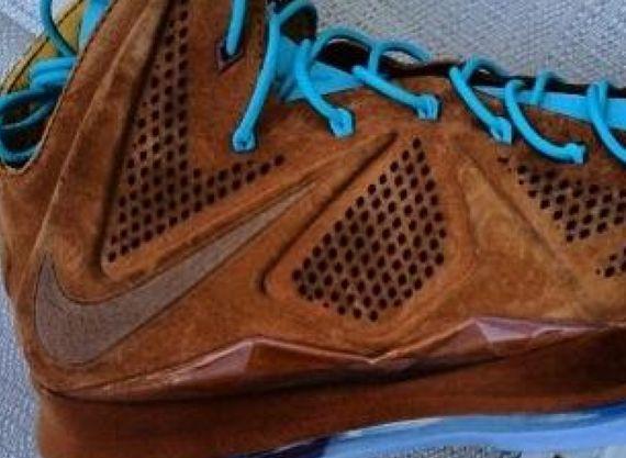Nike Lebron 10 Hazelnut release