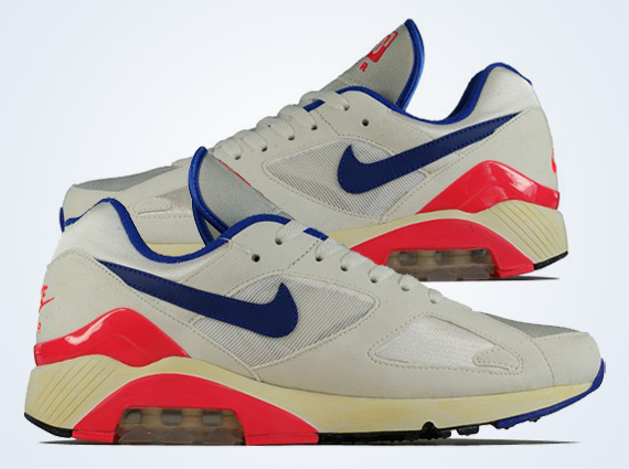 new product 9c198 570bf Dropping this month Nike Air Max 180 OG ultramarine red black color-way is a  holy grail for nike runner heads the OG silhouette is timeless.