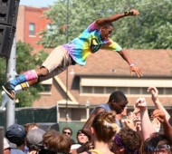 tyler stage dive