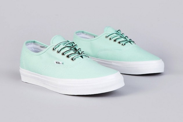 new concept a0063 f5cd4 Off the wall as usual! Vans teamed up with Alien Workshop s Mike Hill on  this super clean release. Definitely a must have for the summer or that 8 9  Miami ...