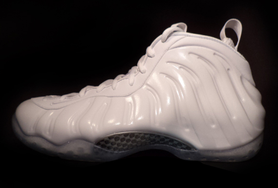 Nike Air Foamposite One White Release