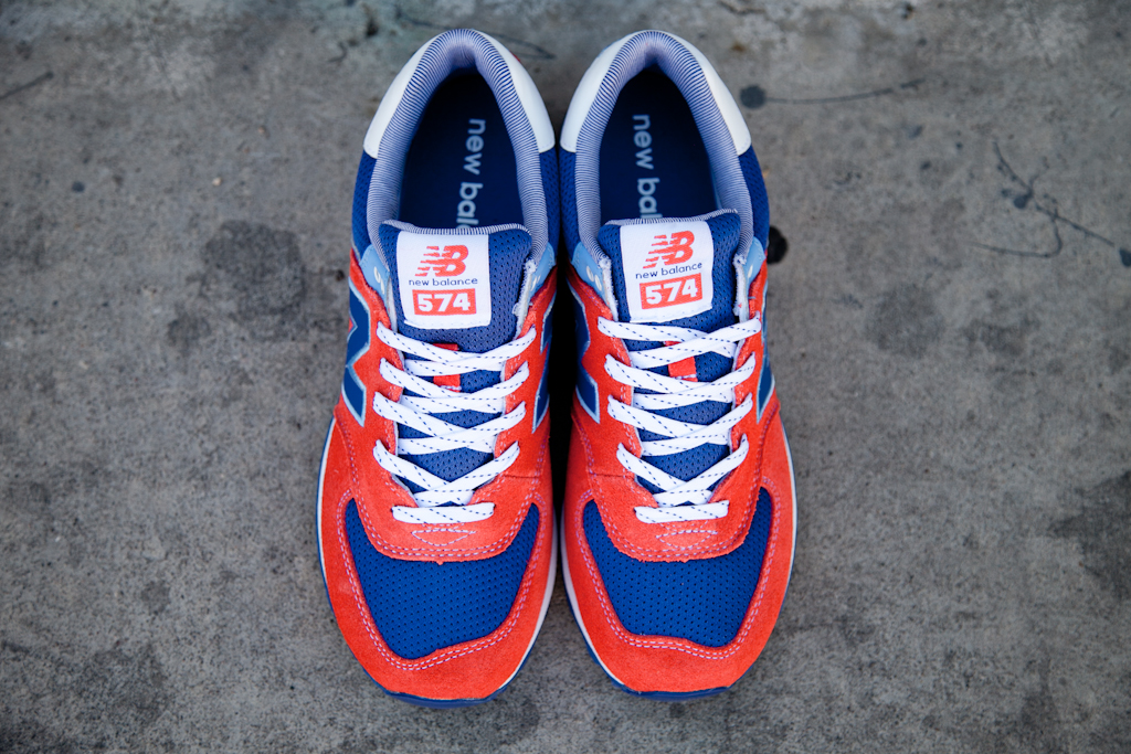 "info for dd662 65502 New Balance 574 ""Yacht Club"" Pack – Red  Blue"