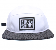 cement white 5 panel
