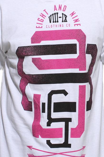 Pink foamposite t shirt