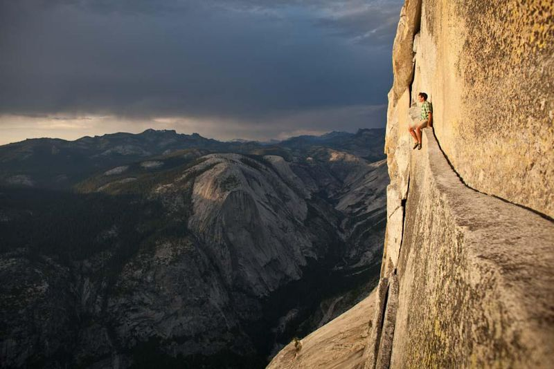 Alex-Honnold-Half-Dome-Photo-The-North-Face