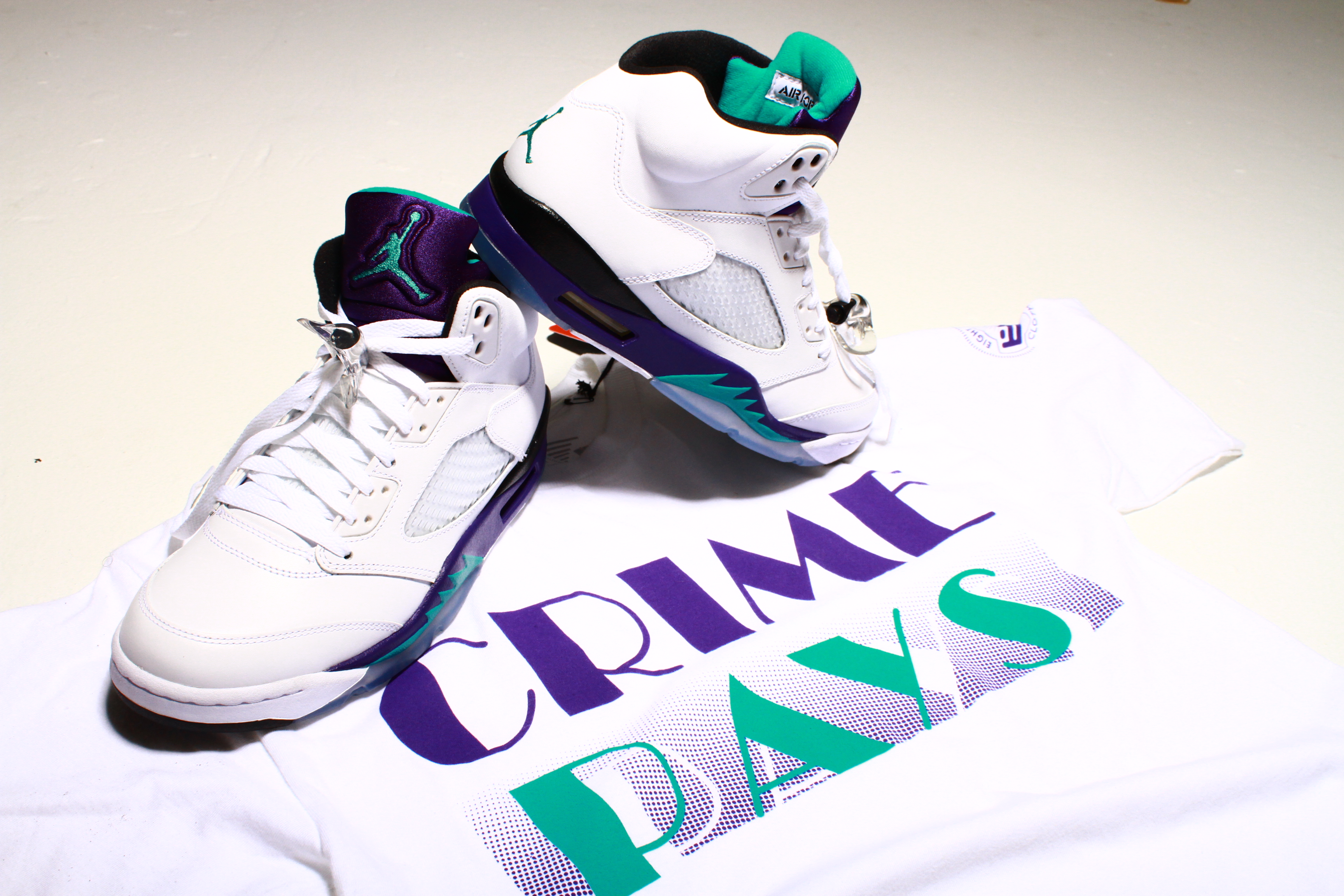 0630779b25d Shirt to match Jordan 5 Grape 2013 Release | 8&9 Clothing Co.