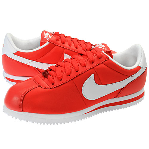red nike cortez shoes