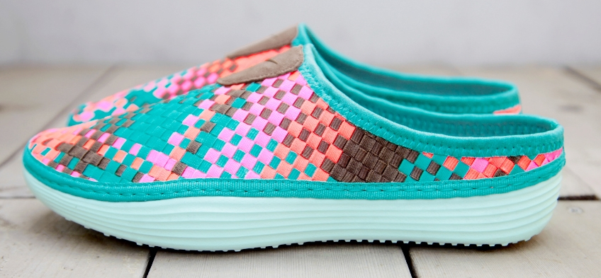"Enfriarse productos quimicos Ordinario  Nike Solarsoft Mule Woven Premium ""Sport Turquoise"" 