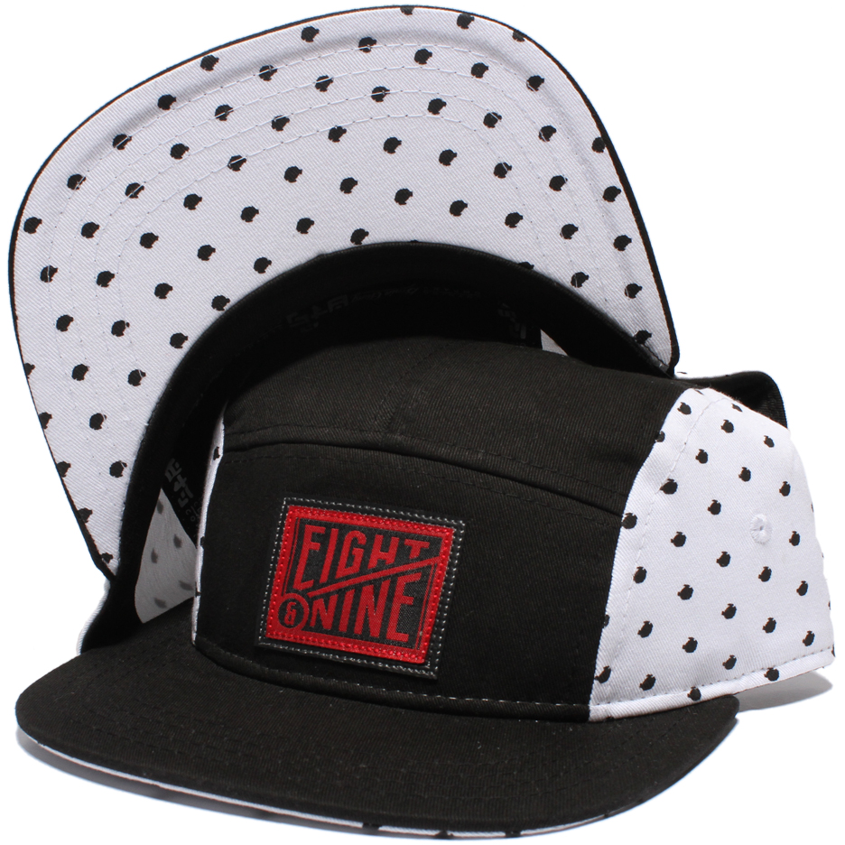 hat to match black white jordan low