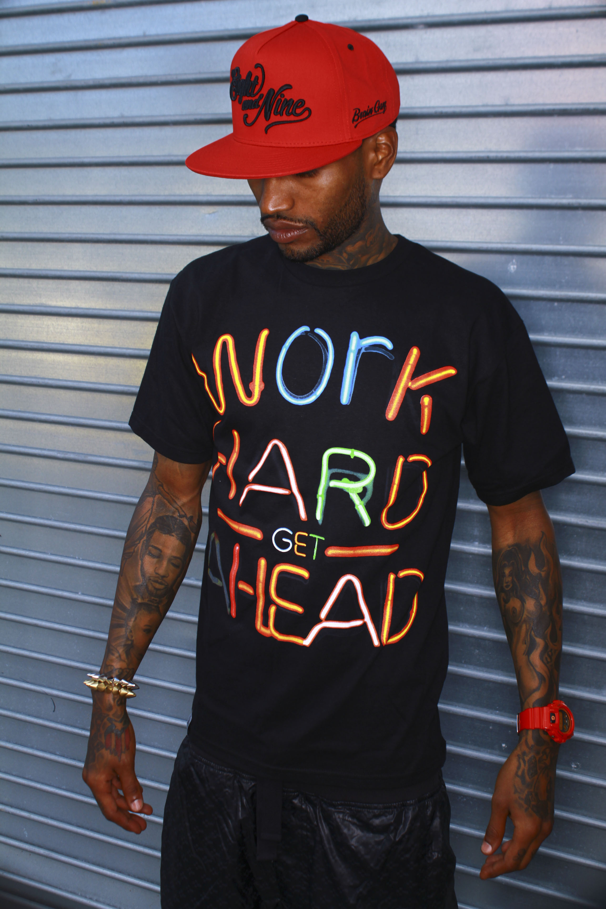 work hard t shirt