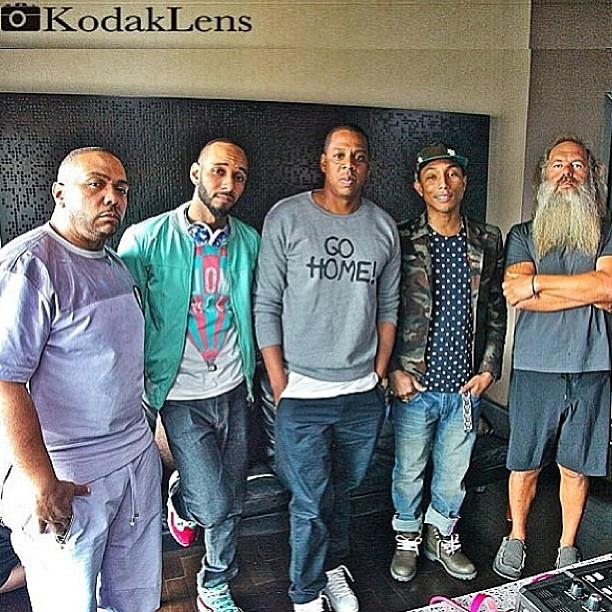 Jay-Z-Timbaland-Swizz-Pharrell